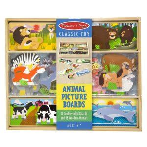 Триизмерен дървен пъзел с животни Melissa & Doug 19890 1
