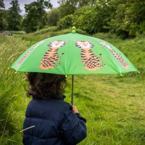Чадър за деца за дъжд тигърчето Теди Rex London 26982 1