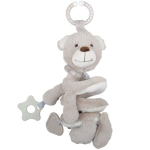 Бебешка играчка Мека дрънкалка спирала Меченце BigJigs BB602 (1)