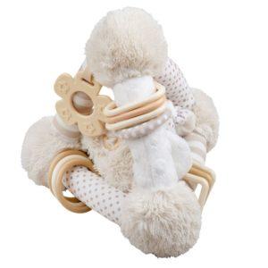 Бебешка плюшена играчка Съненото кученце BigJigs BB614 1