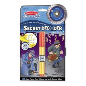 Детска детективска книга Таен декодер Melissa & Doug 15248 (1)
