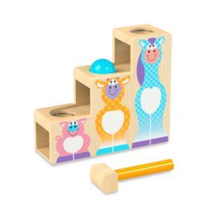 Детска дървена игра Бутни топката по стълбите Melissa & Doug 40124 (1)