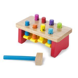 Детска дървена игра с чукче Melissa & Doug 14490 (1)
