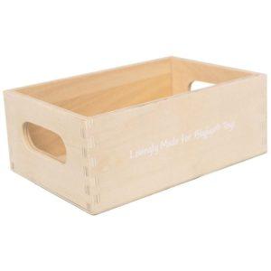 Детска дървена касетка за плодове и зеленчуци BigJigs BJF097 1