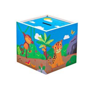 Детска дървена касичка Джунгла BigJigs T0311 1