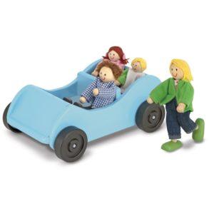 Детска дървена кола с куклички Melissa & Doug 12463 (1)