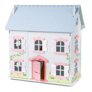 Детска дървена куклена къща Къщата с бръшляна BigJigs T0520 (1)