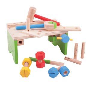 Детска дървена работилница Bigjigs BJ689