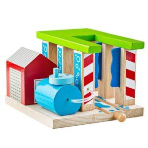 Детска играчка автомивка за влакове BigJigs BJT250 1 (1)