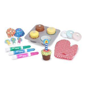 Детска играчка комплект за приготвяне на кексчета Melissa & Doug 14019 (1)