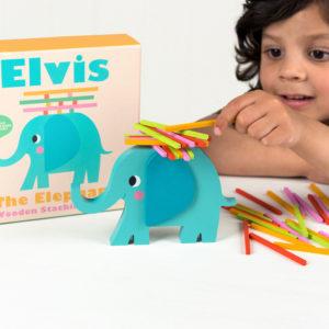 Детска игра за баланс Слончето Елвис Rex London 27499 (1)