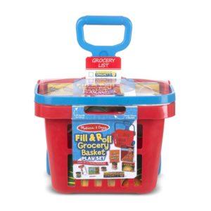 Детска количка за пазар с продукти Melissa & Doug 14073 (1)