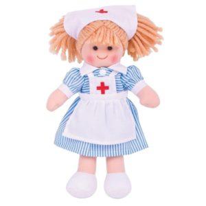 Детска кукла Медицинската сестра Нанси BigJigs BJD011 1
