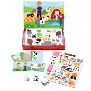 Детска магнитна игра На полето BigJigs BJ004 (1)