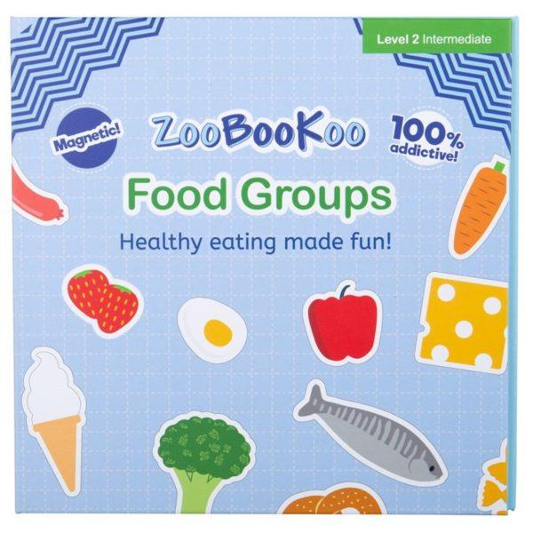 Детска магнитна книга Хранителни групи Bigjigs ZCC7020 (1)