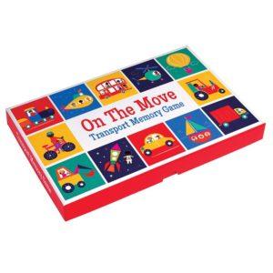Детска мемо игра Транспортни средства Rex London 27511 (1)