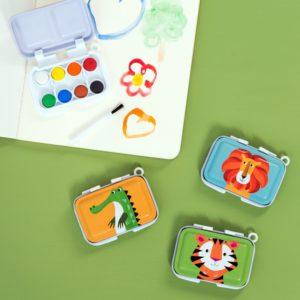 Детска палитра с водни боички Цветни създания различни видове Rex London 28105