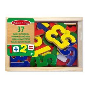 Детски дървени магнитни цифри и знаци Melissa & Doug 10449 (1)