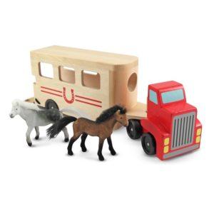 Детски дървен камион с кончета Melissa & Doug 14097 (1)