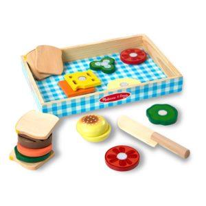 Детски дървен комплект Направи си сандвичи Melissa & Doug 10513 (1)