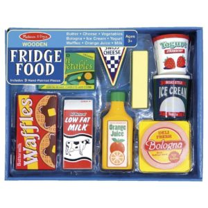 Детски дървен комплект Хранителни продукти за хладилник Melissa & Doug 14076 (1)