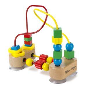Детски дървен костер с цветни мъниста Melissa & Doug 13042 (1)