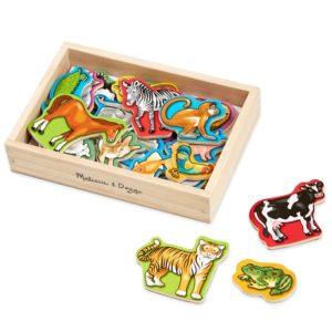 Детски дървен магнитен комплект Животни Melissa & Doug 10475 (1)