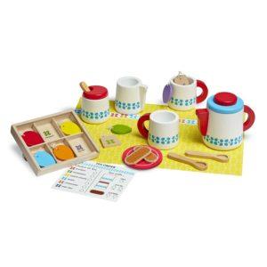 Детски дървен сервиз за чай Melissa & Doug 19843 (1)