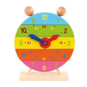 Детски дървен часовник сглобяем Bigjigs BJ659 (1)