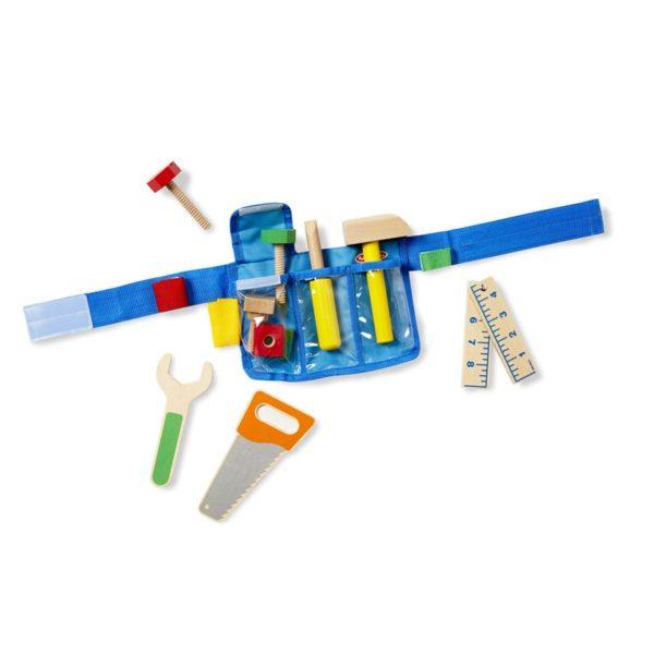 Детски колан с дървени инструменти луксозен комплект Melissa & Doug 15174 (1)
