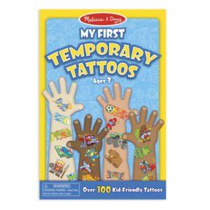 Детски комплект Моите първи временни татуировки - сини Melissa & Doug 12947 (1)