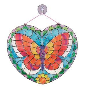 Детски комплект за стъклопис със стикери Пеперуда Melissa & Doug 19295 (1)