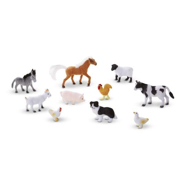 Детски комплект с фигурки Животните от фермата Melissa & Doug 10594 (1)