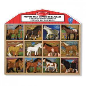 Детски комплект с фигурки Коне Melissa & Doug 10592 (1)