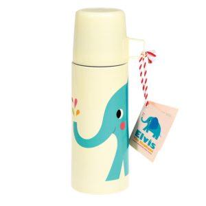 Детски термос с чаша Слончето Елвис Rex London 27567 (1)