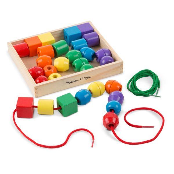 Детски цветни нанизи мъниста Melissa & Doug 10544 (1)