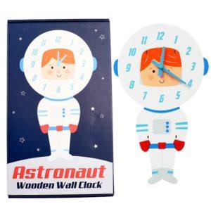 Детски часовник за стена Астронавт Rex London 28466 (1)