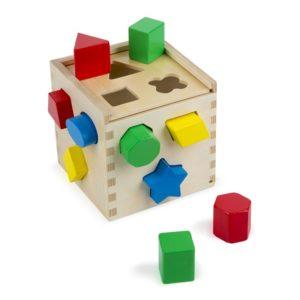 Детско дървено кубче сортер Melissa & Doug 10575 (1)