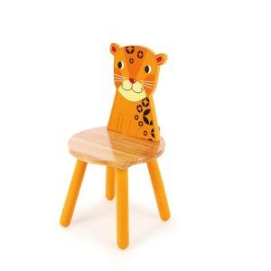 Детско дървено столче Тигърче BigJigs T0202 1