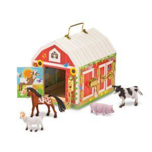 Дървена играчка Обор с животни Melissa & Doug 12564 (1)