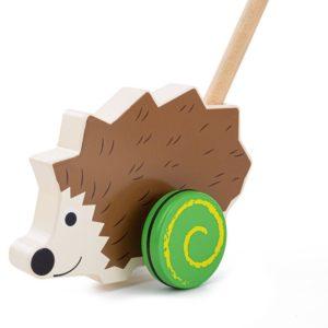 Дървена играчка за бутане Таралеж BigJigs BB140 (1)