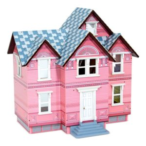 Дървена къща за кукли Викториански стил Melissa & Doug 12580 (1)