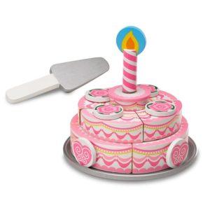 Дървена торта за рожден ден двуетажна Melissa & Doug 14069 (1)
