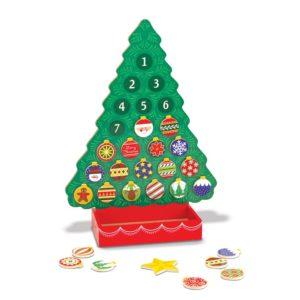 Дървен календар Брой дните до Коледа Melissa & Doug 13571 (1)