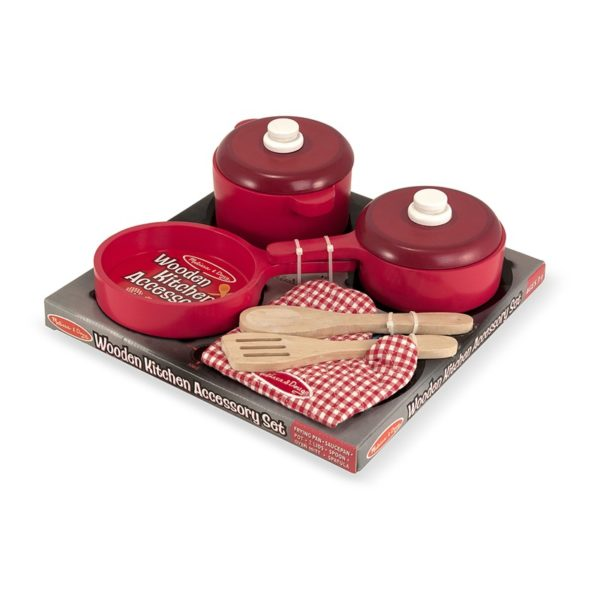 Дървен комплект за готвене Melissa & Doug 12610 (1)