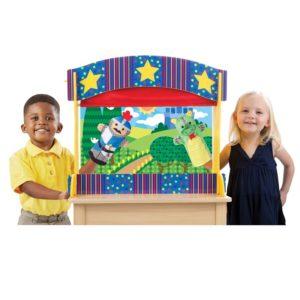 Дървен настолен куклен театър Melissa & Doug 12536 (1)