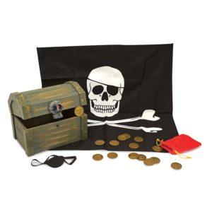 Дървен пиратски сандък със съкровища Melissa & Doug 12576 (1)