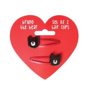 Комплект от 2 детски фибички за коса Мечето Бруно Rex London 28300 (1)