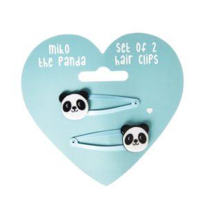 Комплект от 2 фибички за коса Пандата Мико Rex London 28297 (1)