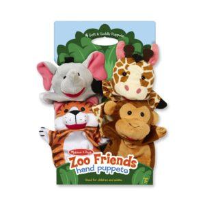 Кукли за ръце за куклен театър Животни от зоопарка Melissa & Doug 19081 (1)